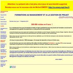 M.EMERY Management Sommaire du site