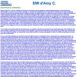 EMI d'Amy C 4720 Réaction allergique