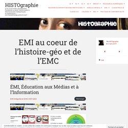EMI au coeur de l'histoire-géo et de l'EMC