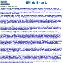 EMI de Brian L 748 - 9 ans - EMI négative