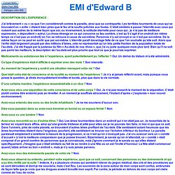 EMI d'Edward B 741 - positive et négative