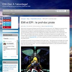 EMI et EPI : le prof-doc pirate proposition de progression