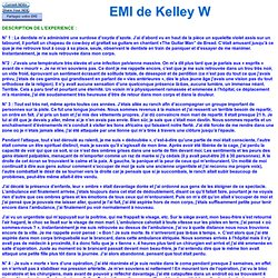 EMI de Kelley W 883 Enseignements/ « l'enfer », la compassion et le suicide.