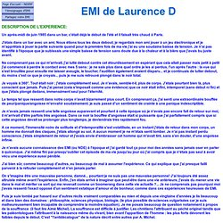 EMI de Laurence D 7071 - France - EMI négative