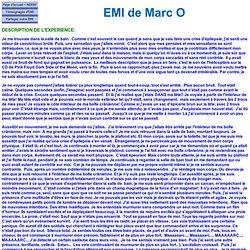 EMI de Marc O 6931 - Canada - EMI NEGATIVE