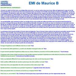 EMI de Maurice B 4687 France - Forte douleur