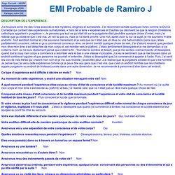 EMI Probable de Ramiro J 2224 - Equateur - EMI négative