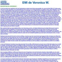 EMI de Veronica W 4158 - Choc anaphylactique
