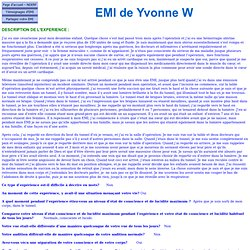 EMI de Yvonne W 2396 - Avocate - Infection césarienne
