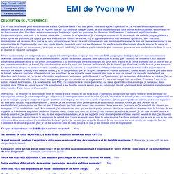 EMI de Yvonne W 2396 - Avocate - Infection césarienne