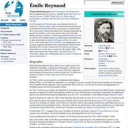 Émile Reynaud - Wikimonde