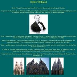 Emile Thibaud
