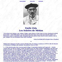 Emile Zola Les Soirées de Médan
