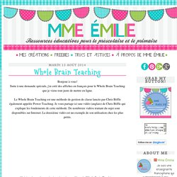 Mme Émilie: Whole Brain Teaching