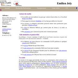Emilien Joly - POuest