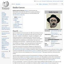 Emilio Carrere