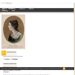 Emily Brontë - Babelio
