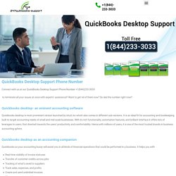 Access eminent support at QuickBooks Desktop Support Phone Number