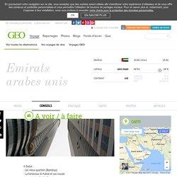 Emirats arabes unis : conseils voyageurs Emirats arabes unis