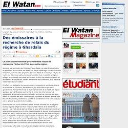 Des émissaires à la recherche de relais du régime à Ghardaïa