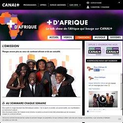L'émission +D'AFRIQUE, le 1er talk show 100% africain animé par Robert Brazza et son équipe - CANAL+ AFRIQUE