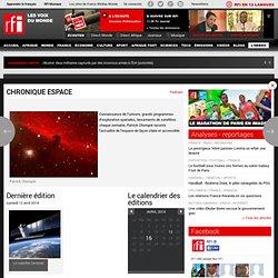 Émission - Chronique Espace