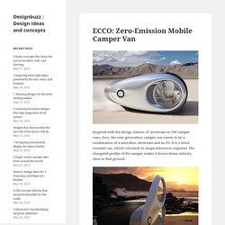 ECCO: Zero-Emission Mobile Camper Van