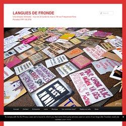 Podcast Langues de fronde, invitées Emilie Hache et Isabelle Cambourakis - L'écoféminisme