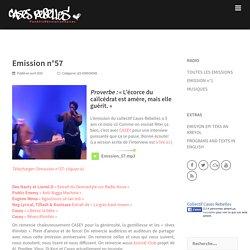 Emission n°57 – CASES REBELLES