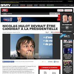 Nicolas Hulot probable candidat à la présidentielle 2012