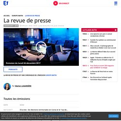 Europe 1 : la revue de presse de Natacha Polony