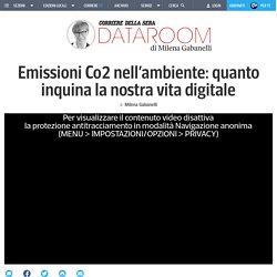 Emissioni Co2 nell'ambiente: quanto inquina la nostra vita digitale