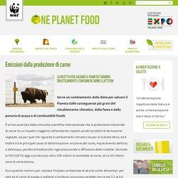 Emissioni dalla produzione di carne