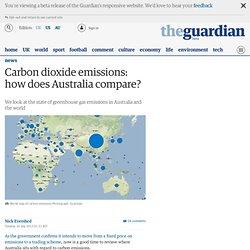 Australian Carbon Dioxide Emissions