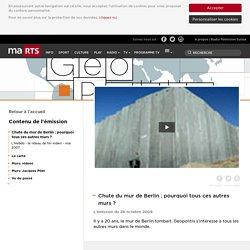 RTS.ch - Emissions - Chute du mur de Berlin: pourquoi tous ces autres murs?