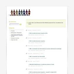 Liens vers les emissions des établissements de l'académie de Caen - web radio clemi caen