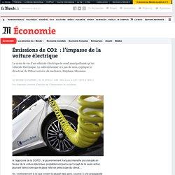 Doc. 1 : Émissions de CO2 : l'impasse de la voiture électrique