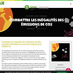 Combattre les inégalités des émissions de CO2