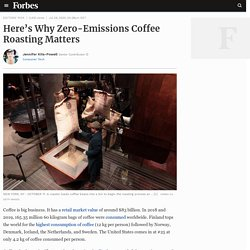 Here's Why Zero-Emissions Coffee Roasting Matters