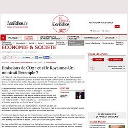 Emissions de CO2 : et si le Royaume-Uni montrait l'exemple ?