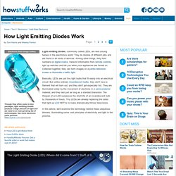 How Light Emitting Diodes Work - HowStuffWorks
