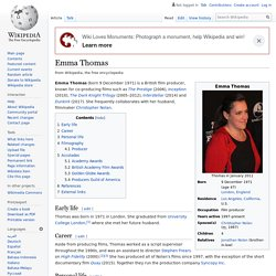 Emma Thomas - Wikipedia