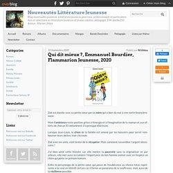 Qui dit mieux ?, Emmanuel Bourdier, Flammarion Jeunesse, 2020