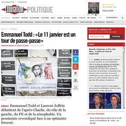 Emmanuel Todd : «Le 11 janvier est un tour de passe-passe»