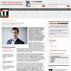 Emmanuel de Maistre, monsieur drones