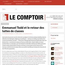 Emmanuel Todd et le retour des luttes de classes