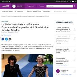 Le Nobel de chimie à la Française Emmanuelle Charpentier et à l'Américaine Jennifer Doudna