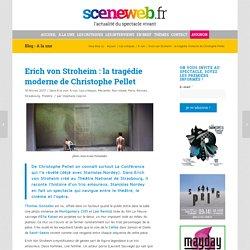 Emmanuelle Béart dans Erich von Stroheim de Christophe Pellet dans une mise en scène de Stanislas Nordey