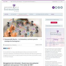 Emmanuelle Martin (VWR) : La formation interne, un levier pour la stratégie de l'entreprise