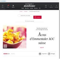 Acras d'Emmentaler AOC suisse